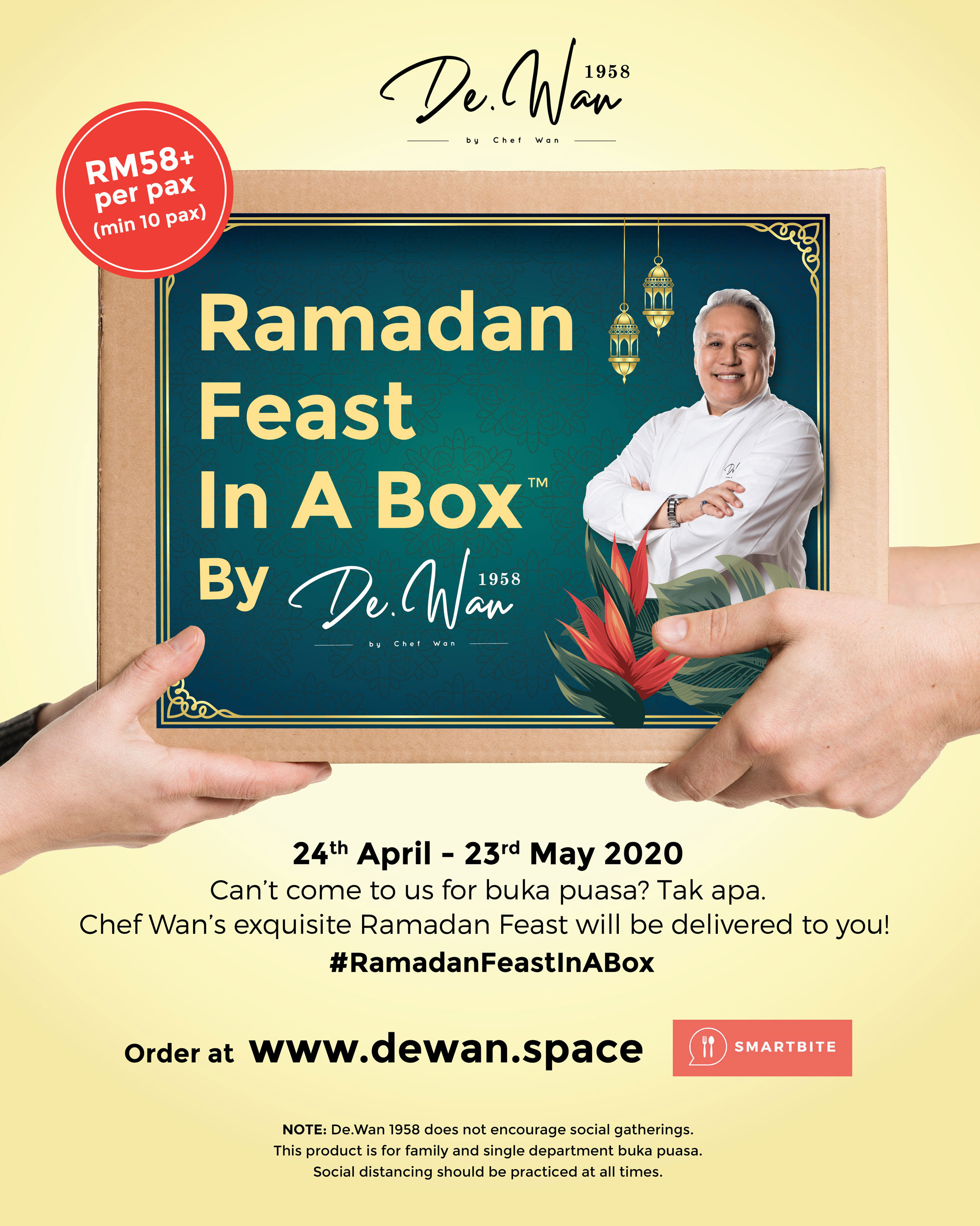 Ramadan Feast In A Box by De.Wan 1958