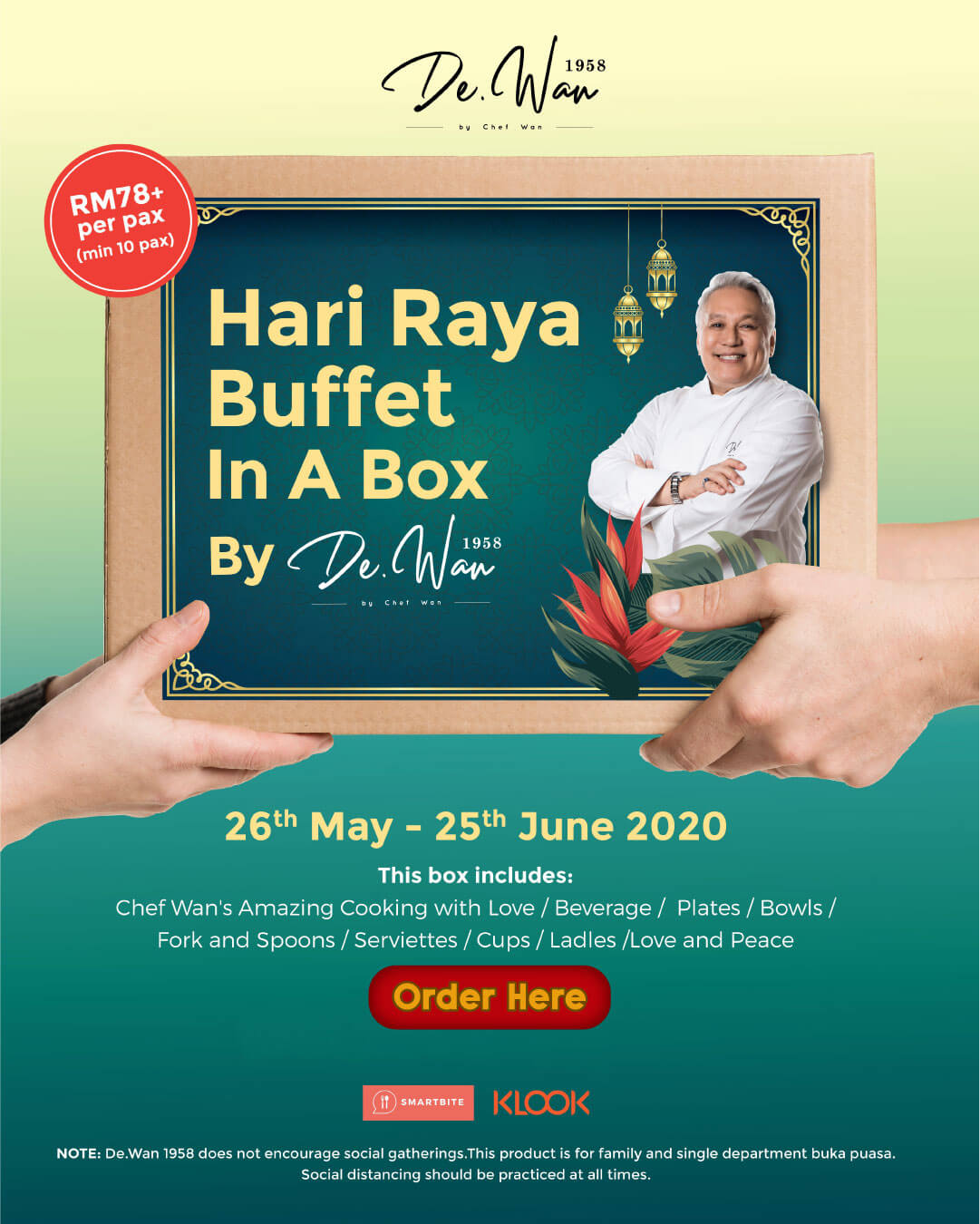 Hari Raya Buffet In A Box
