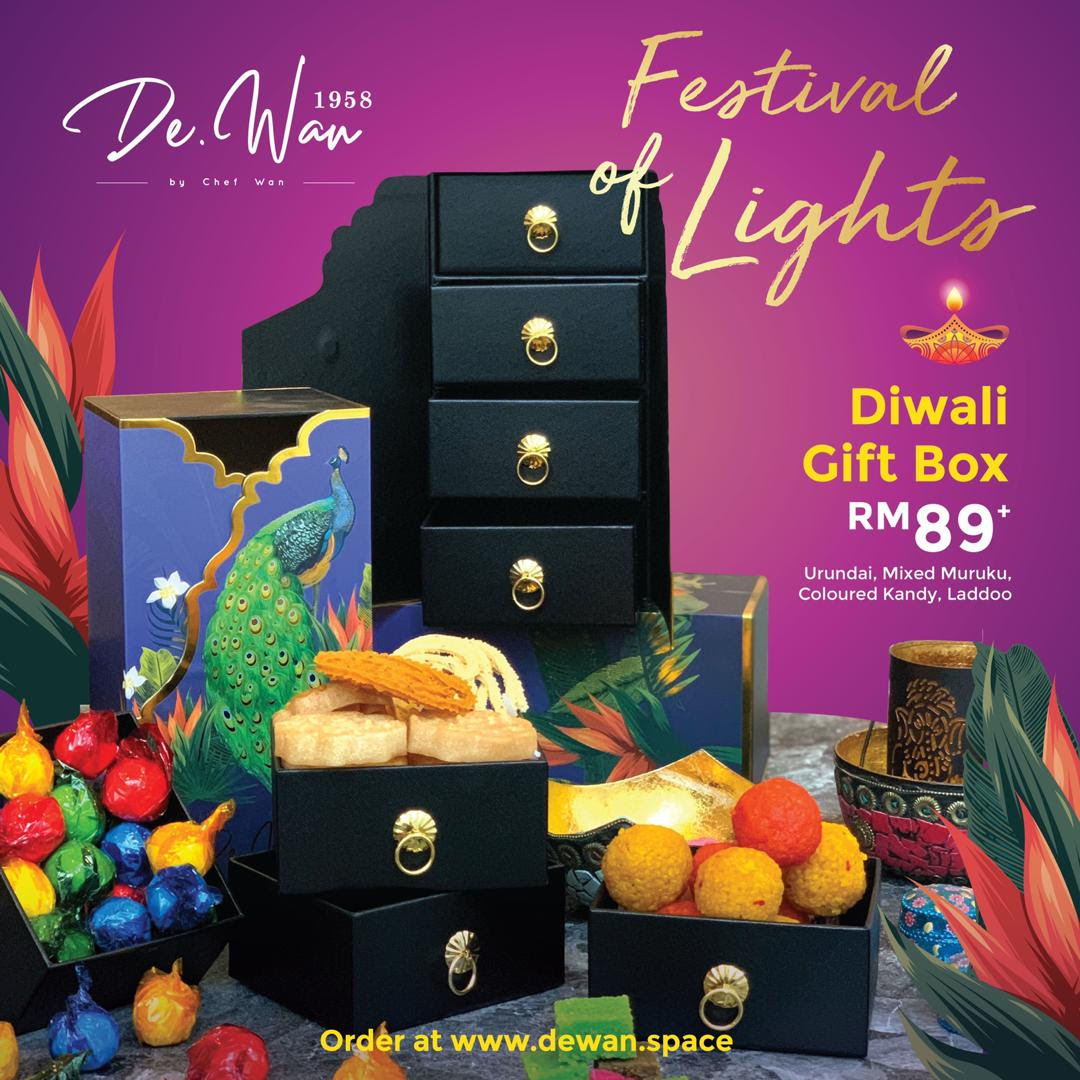 Brighten the Festival of Lights with the sparkle of De.Wan 1958's Jewellery Box