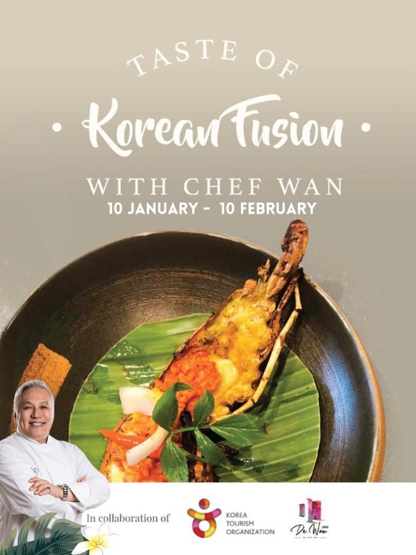 Taste of Korean Fusion With Chef Wan